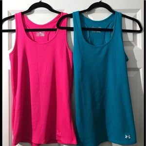 2 Under Armour workout tanks